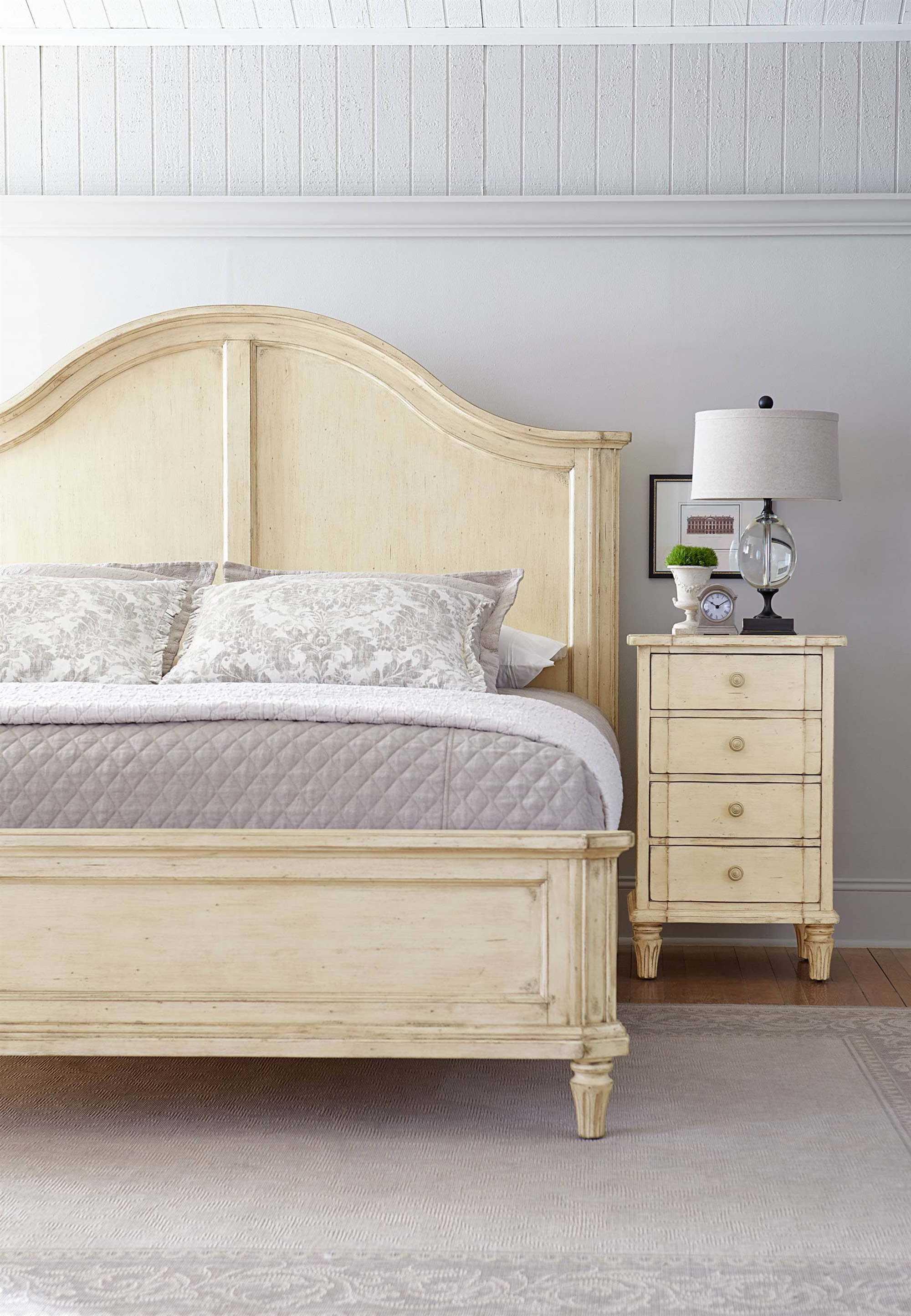 Stanley Furniture European Cottage Casual Panel Bed Bedroom Set 007 23 40set2
