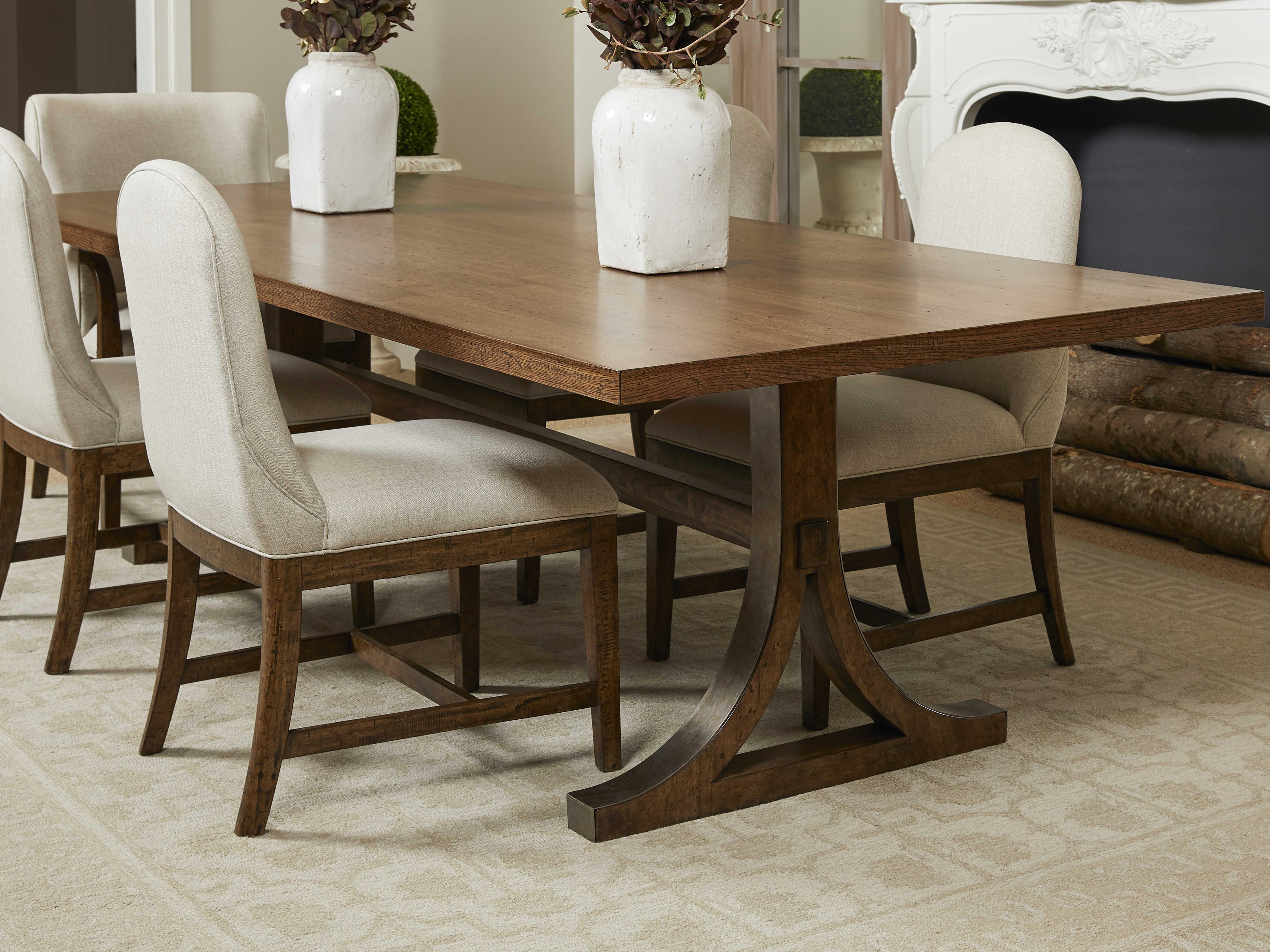 Stanley Furniture Hillside 108 Wide Rectangular Dining Table Sl811c137