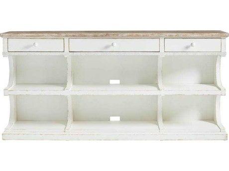 Stanley Furniture Juniper Dell 17th Century White 72''W x 17''D Media Console SL6152530