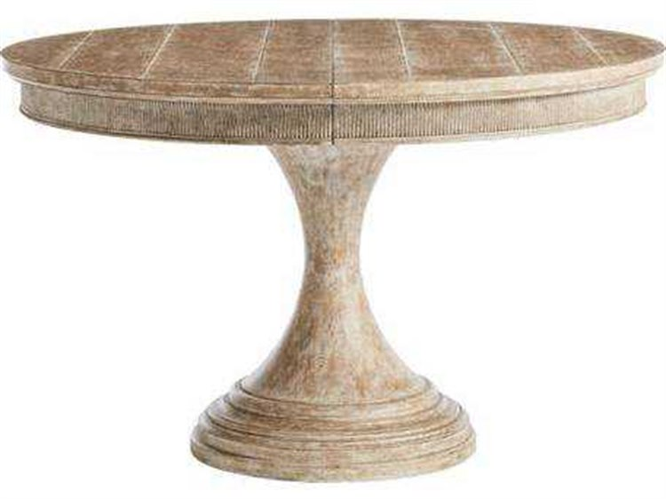 Stanley Furniture Juniper Dell English Clay 48 Round Dining Table