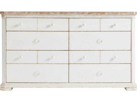 Stanley Furniture Juniper Dell 17th Century White Double Eight-Drawer Dresser SL6152305