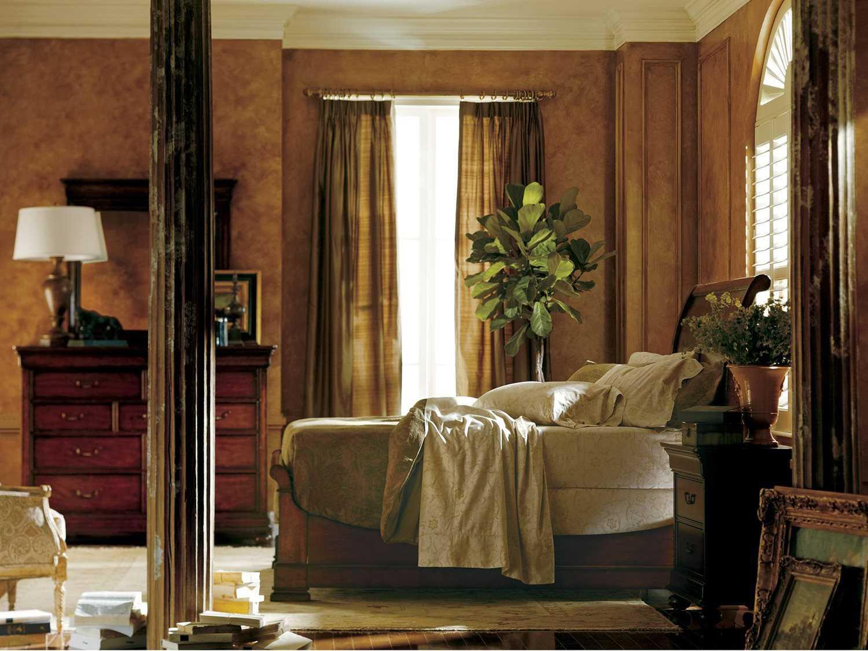 Stanley furniture louis philippe bedroom set sl0581352set - Louis philippe bedroom collection ...