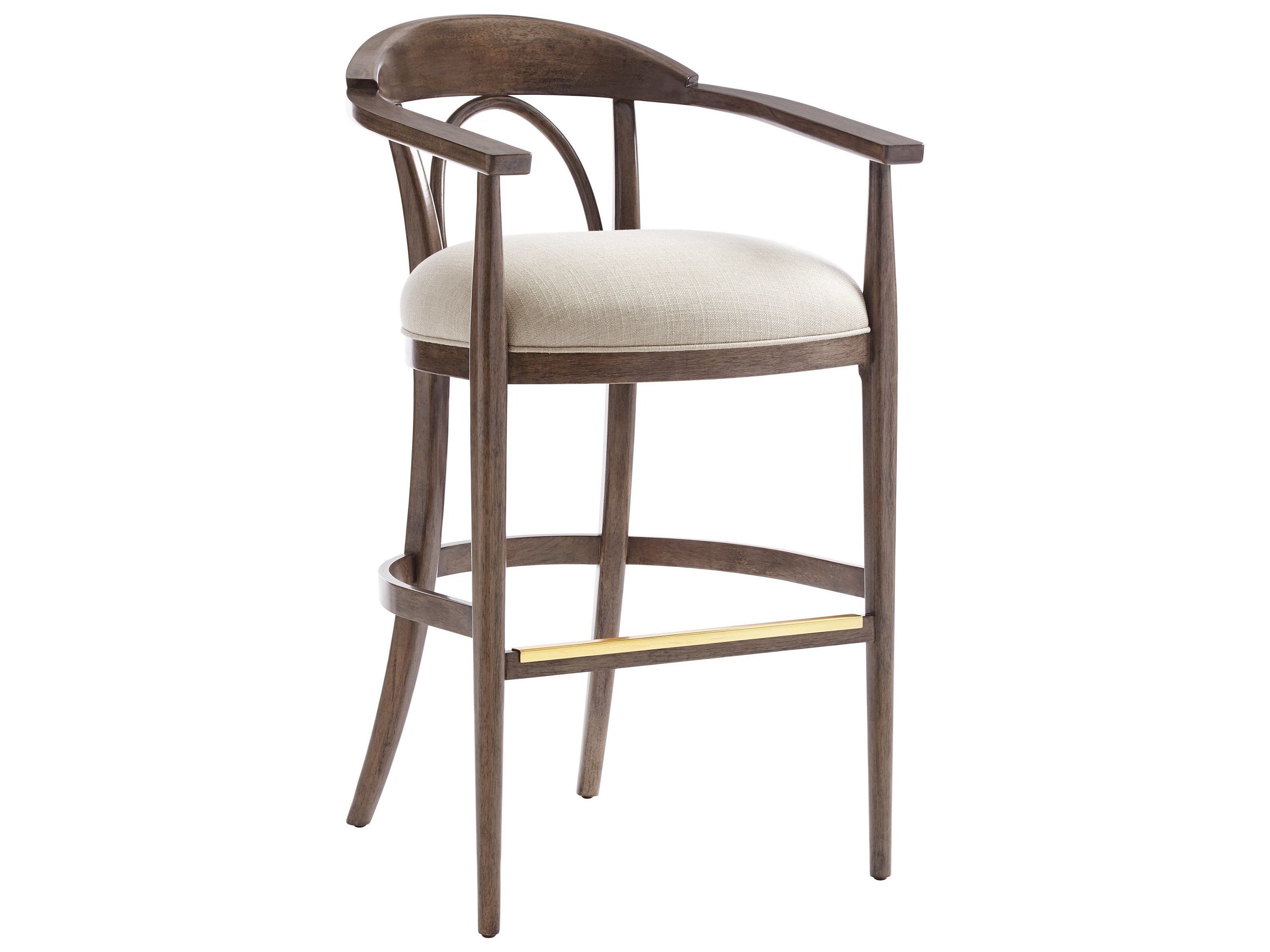 Stanley Furniture Panavista Quicksilver Studio Barstool