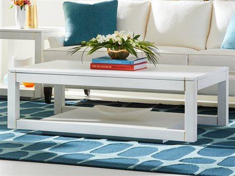 Stanley Furniture Panavista Alabaster 54''L x 30''W Rectangular Floating Parsons Rectangular Cocktail Table