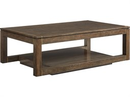 Panavista Quicksilver 54''L x 30''W Rectangular Floating Parsons Rectangular Cocktail Table