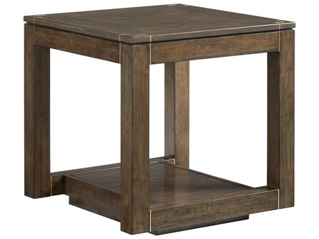 Stanley Furniture Panavista Quicksilver 25'' Square Floating Parsons End Table