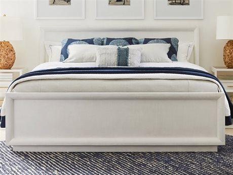 Stanley Furniture Panavista Alabaster California King Panorama Panel Bed