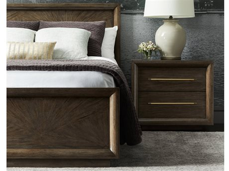 Stanley Furniture Panavista Quicksilver California King Panorama Panel Bed
