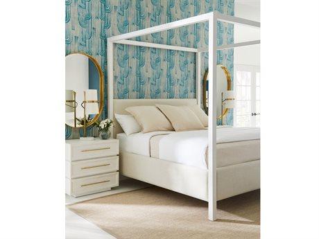 Stanley Furniture Panavista Alabaster Poster Bed Bedroom Set SL7042342SET