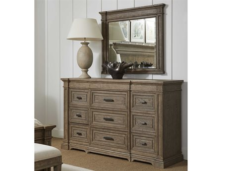 Stanley Furniture Portico Triple Dresser with Mirror SL801A305SET