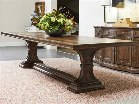 Stanley Furniture Thoroughbred 96'' Wide Rectangular Dining Table