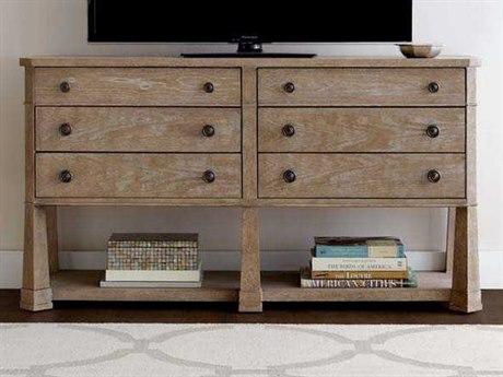Stanley Furniture Wethersfield Estate Brimfield Oak 62''L x 19''W Media Console SL5181530