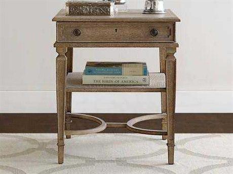 Stanley Furniture Wethersfield Estate Brimfield Oak 24''L x 27.25''W Rectangular End Table