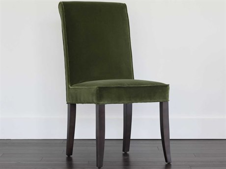 Sunpan Baron Espresso Giotto Olive / Side Dining Chair