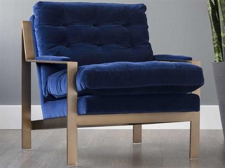 Sunpan Court Antique Brass Accent Chair