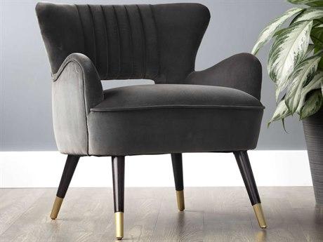 Sunpan Hanna Espresso Club Chair SPN102602