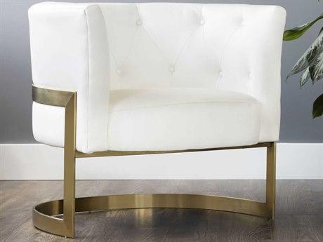 Sunpan Karissa Yellow Gold Accent Chair SPN102288