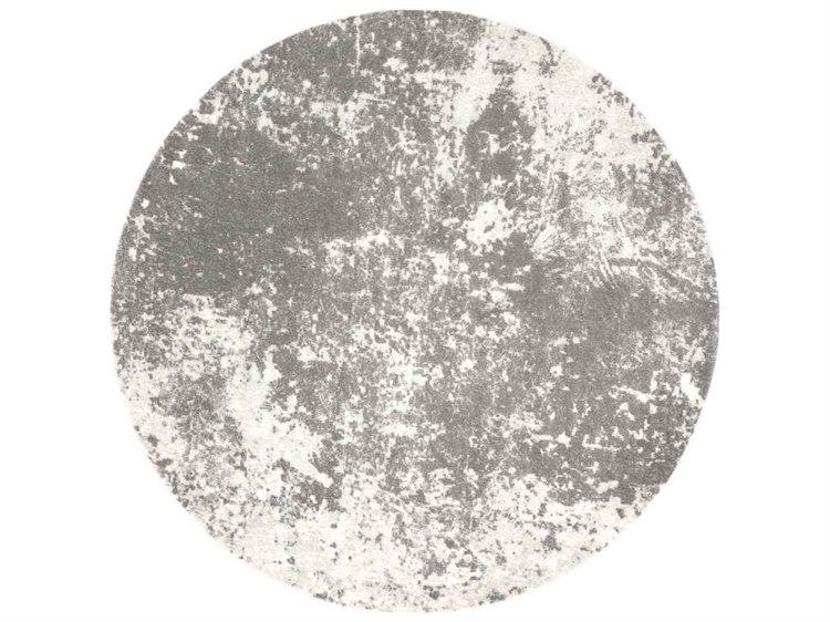 24562ac85f4 Surya Aberdine Medium Gray / Charcoal Ivory Round Area Rug | ABE-8013-ROU