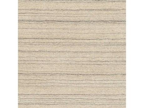 Surya Adyant Black / Light Gray Cream Square Sample