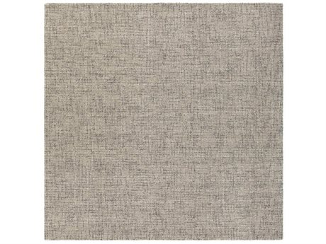 Surya Aiden Medium Gray / Khaki Square Area Rug