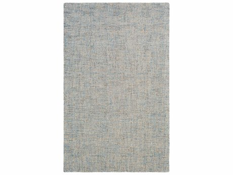 Surya Aiden Rectangular Denim & Cream Area Rug