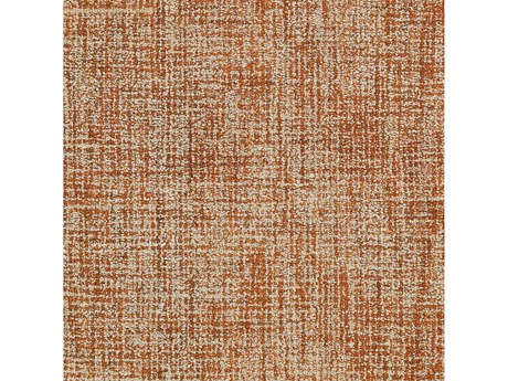 Surya Aiden Burnt Orange / Khaki Square Sample
