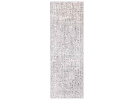 Surya Aisha Light Gray / Medium White Runner Area Rug
