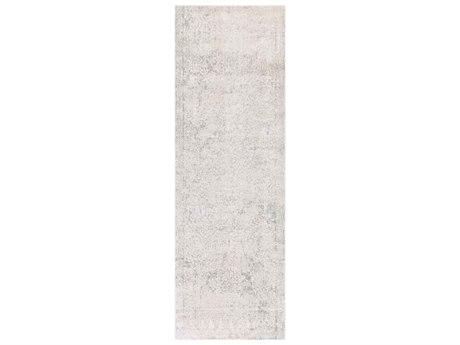Surya Aisha Light Gray / White Runner Area Rug