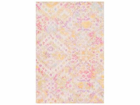 Surya Antigua Lilac / Bright Pink / Beige Rectangular Area Rug