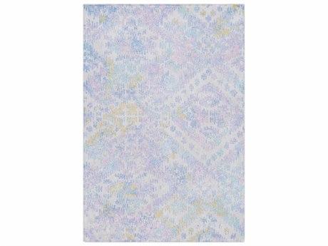 Surya Antigua Denim / Bright Blue Lilac Aqua Sky Light Gray Olive Rectangular Area Rug