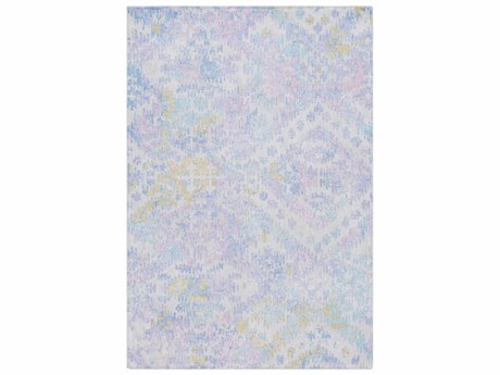 Surya Antigua Denim / Bright Blue / Lilac Rectangular Area Rug