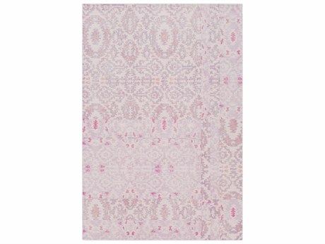 Surya Antigua Blush / Mauve Lilac Bright Pink Rose Rectangular Area Rug