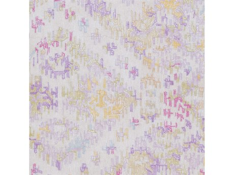Surya Antigua Lilac / Bright Pink / Beige Square Sample