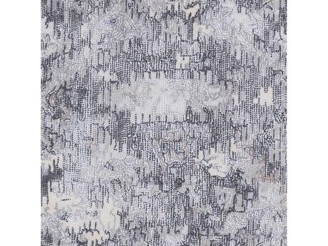 Surya Antigua Charcoal / Medium Gray / Cream Square Sample