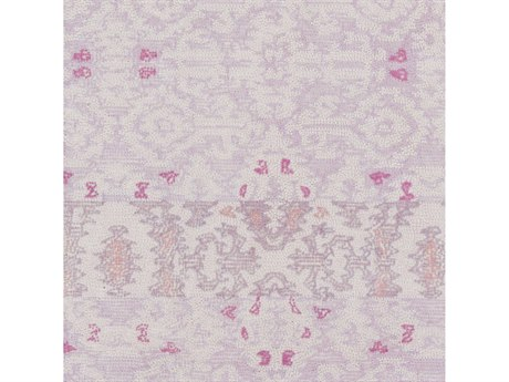 Surya Antigua Blush / Mauve Lilac Bright Pink Rose Square Sample