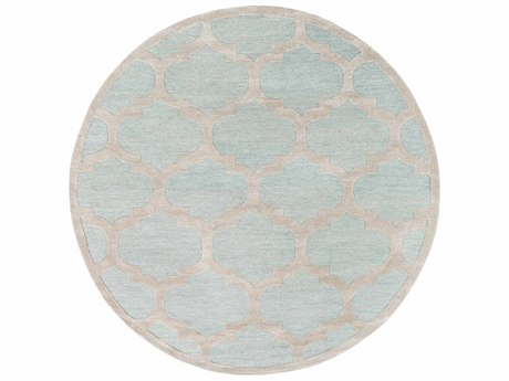 Surya Arise Mint / Beige Round Area Rug