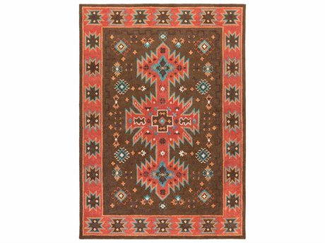 Surya Arizona Rectangular Red Area Rug SYARZ1004REC