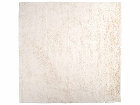 Surya Ashton 8' Square White Area Rug