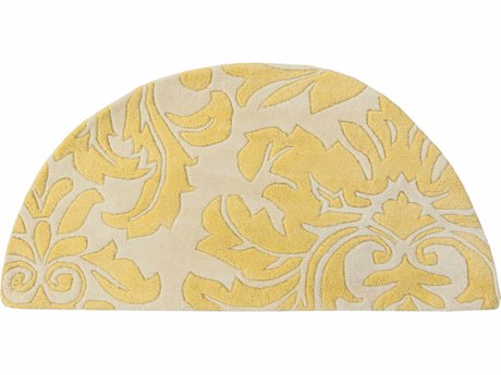 Surya Athena Yellow 2' x 4' Hearth Rug SYATH5075HEA