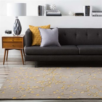 Surya Athena Rectangular Gray Area Rug SYATH5060REC