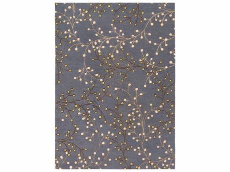 Surya Athena Rectangular Gray Area Rug SYATH5125REC