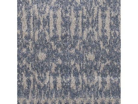 Surya Baylee Sky Blue / Silver Gray Square Sample
