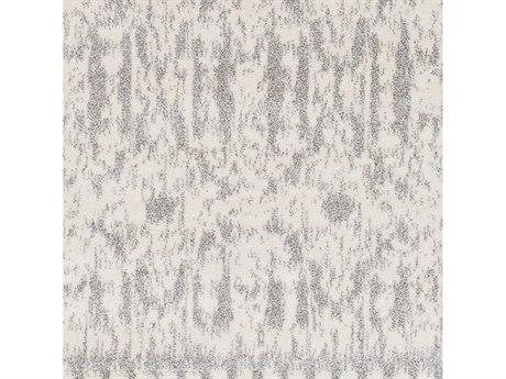 Surya Baylee Cream / Silver Gray Square Sample