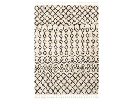 Surya Berber Shag Charcoal / Beige Rectangular Area Rug
