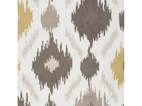 Surya Brentwood Wheat / Taupe Cream Khaki Camel Dark Brown Square Sample