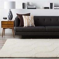 Candice Olson Modern Classics Rectangular White Area Rug