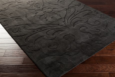 Surya Candice Olson Sculpture Rectangular Black Area Rug SYSCU7510REC