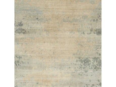 Surya Candice Olson - Slice Of Nature Light Gray / Khaki Medium Tan Square Sample