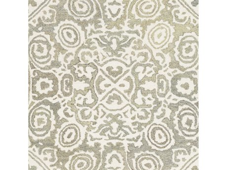 Surya Cassini Taupe / Cream Moss Sage Square Sample