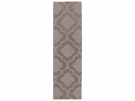 Surya Central Park Taupe / Mauve Runner Area Rug